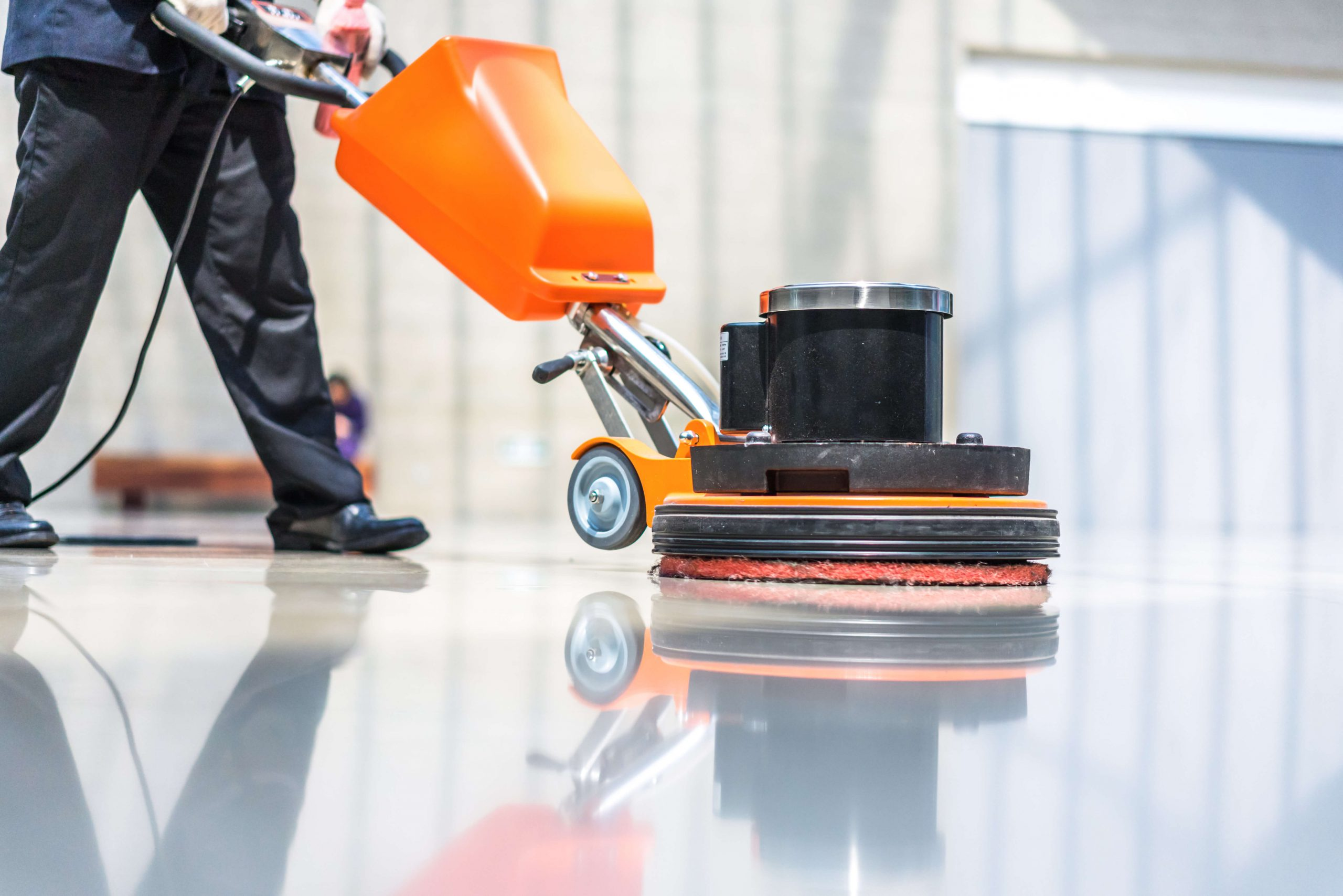 Strip-and-wax-floor-cleaning